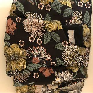loft • maxi dress • floral